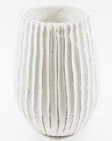 [Doniczki ceramiczne]Donica Ryflowana Taras H:28cm