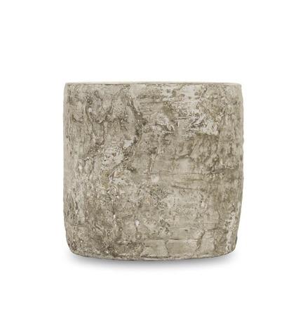 [Doniczki ceramiczne]Donica Wzór Kory Brzozy H:12