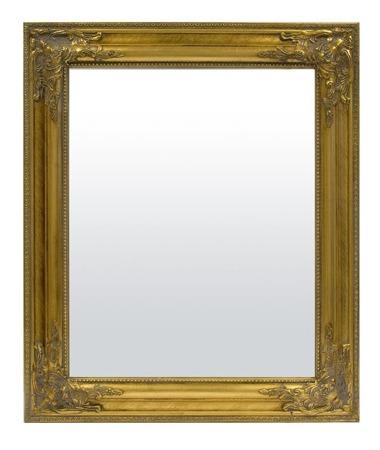 Lustro złota rama  55x65x3