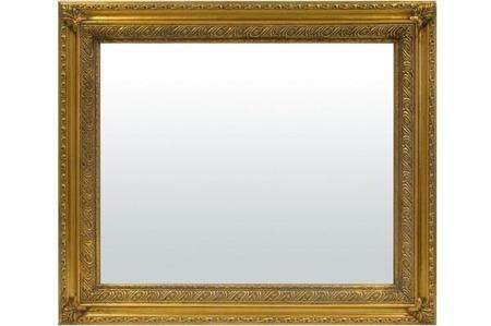 Lustro złota rama 65x75