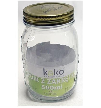Słoik szklany 500 ml Koko