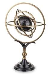 Astrolabium Globus metalowy wys. 57 cm