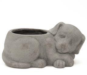 Doniczka Śpiący Pies Gaja Ceramika B:26cm