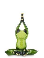Figurka Żaba ćwiczenia Joga drzewo wys. 12.5cm