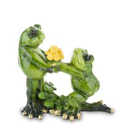Figurka Żabki Miłość oświadczyny wys. 11cm