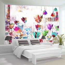 Fototapeta - Kolorowe tulipany