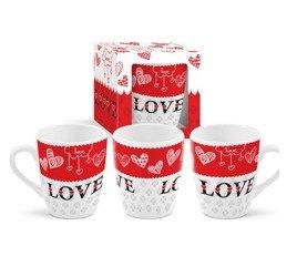 Kubek Ceramiczny Miłość WALENTYNKI Love 300 ml