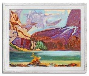 """Obraz """"Abstrakcje"""" - olejny, ręcznie malowany 53x64cm"""