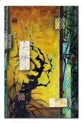 Obraz - Abstrakcje - olejny, ręcznie malowany 60x90 cm