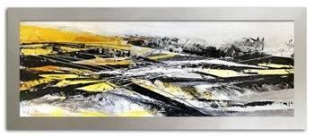 Obraz - Abstrakcje - olejny, ręcznie malowany 62x162