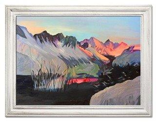 """Obraz """"Abstrakcje"""" - olejny, ręcznie malowany 63x84cm"""