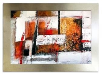 Obraz - Abstrakcje - olejny, ręcznie malowany 64x84cm