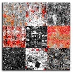 "Obraz ""Abstrakcje"" reprodukcja 100x100cm"