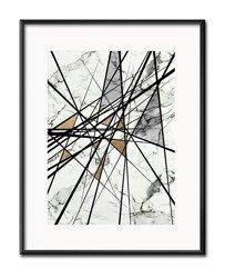 "Obraz ""Abstrakcje"" reprodukcja 21x26cm"