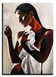 """Obraz """"Akty"""" ręcznie malowany 50x70cm"""