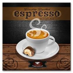 """Obraz """"Coffee"""" reprodukcja 30x30 cm"""