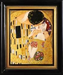 """Obraz """"Gustaw Klimt"""" ręcznie malowany 58x68cm"""