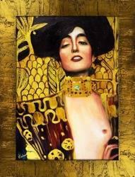 """Obraz """"Gustaw Klimt"""" ręcznie malowany 63x84cm"""