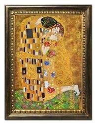 """Obraz """"Gustaw Klimt"""" ręcznie malowany 64x84cm"""