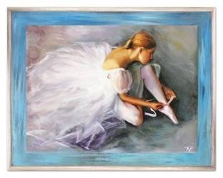 Obraz - Inne - olejny, ręcznie malowany 72x92cm
