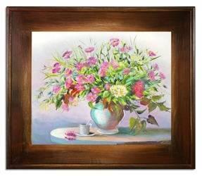 """Obraz """"Inne"""" ręcznie malowany 61x71cm"""