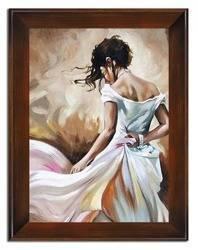 """Obraz """"Inne"""" ręcznie malowany 72x92cm"""