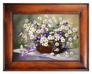 """Obraz """"Inne"""" ręcznie malowany 87x117cm"""