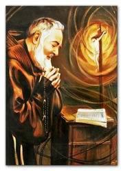 """Obraz """"Inne- religijne"""" ręcznie malowany 50x70cm"""