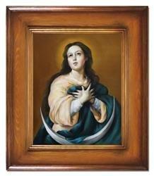 """Obraz """"Inne- religijne"""" ręcznie malowany 66x76cm"""