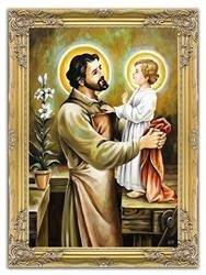 """Obraz """"Inne- religijne"""" ręcznie malowany 75x105cm"""