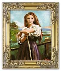 """Obraz """"Inni"""" ręcznie malowany 27x32cm"""