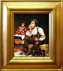 """Obraz """"Inni"""" ręcznie malowany 43x48cm"""
