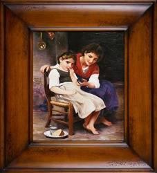 """Obraz """"Inni"""" ręcznie malowany 66x76cm"""