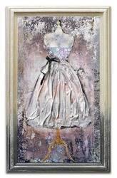 """Obraz """"Kolaż olejny"""" ręcznie malowany 45x75cm"""
