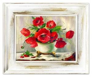 """Obraz """"Maki"""" ręcznie malowany 45x55cm"""