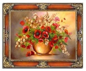 """Obraz """"Maki"""" ręcznie malowany 75x95cm"""