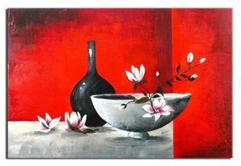 Obraz - Martwa natura nowoczesna - olejny, ręcznie malowany 50x70cm