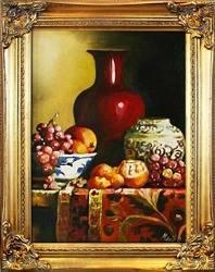"""Obraz """"Martwa natura tradycyjna"""" ręcznie malowany 37x47cm"""
