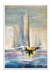 """Obraz """"Marynistyka"""" ręcznie malowany 63x93cm"""