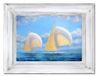 """Obraz """"Marynistyka"""" ręcznie malowany 86x116cm"""