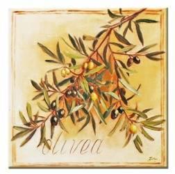 """Obraz """"Oliwka"""" ręcznie malowany 30x30cm"""