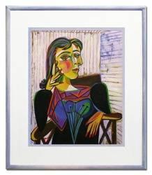 """Obraz """"Pablo Picasso, Salvador Dali i inni"""" ręcznie malowany 61x71cm"""