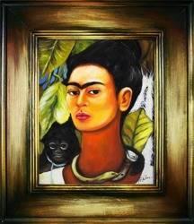"""Obraz """"Pablo Picasso, Salvador Dali i inni"""" ręcznie malowany 66x76cm"""