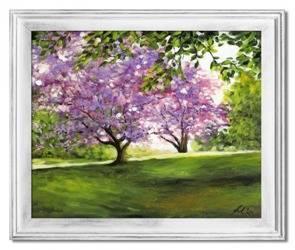 Obraz - Pejzaz tradycyjny - olejny, ręcznie malowany 54x64cm