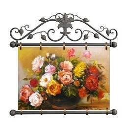 """Obraz """"Roze"""" ręcznie malowany 72x75cm"""