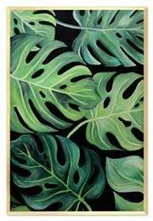 """Obraz """"Tropical Island"""" ręcznie malowany 63x93 cm"""