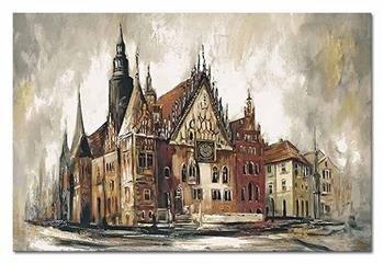 """Obraz """"Wrocław"""" ręcznie malowany 60x90cm"""