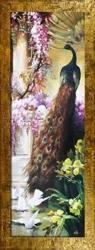 """Obraz """"Zwierzęta"""" ręcznie malowany 68x168cm"""