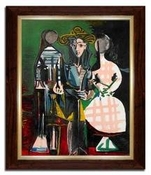 Obraz reprodukcja Pablo Picasso  26x31cm
