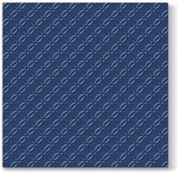 Pl Serwetki Inspiration Modern Navy Blue
